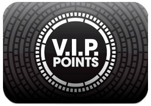 Verdien VIP Points om te winkelen en meer